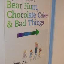 Bear Hunt Chocolate Cake Bad Things